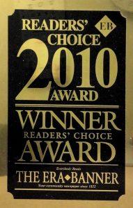 2010 readers choice